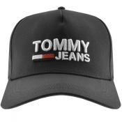 Product Image for Tommy Jeans Logo Cap Black